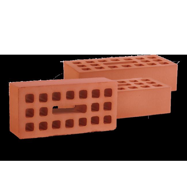 Кирпич пустотелый керамический рядовой одинарный