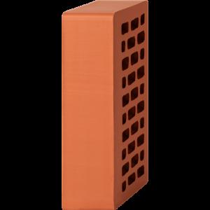 Кирпич лицевой красный 1НФ - Гладкий с утолщённой стенкой