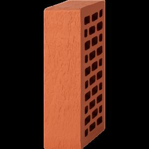 Кирпич лицевой красный 1НФ — Старая стена