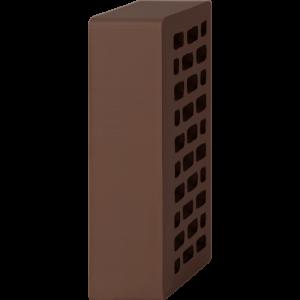 Кирпич лицевой шоколад 1НФ — Гладкий с утолщённой стенкой