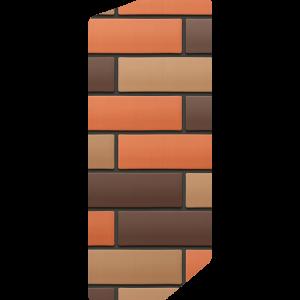 Кирпич лицевой баварская кладка 1НФ — Гладкий