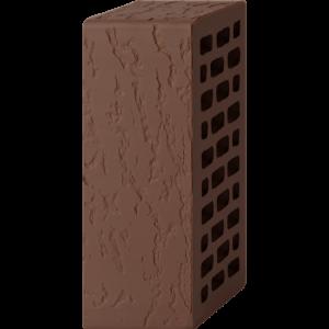 Кирпич лицевой шоколад 1,4НФ — Дуб