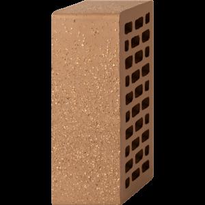 Кирпич лицевой коричневый 1,4НФ — Гладкий с песком